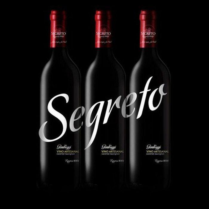 Bouteille vin design 3