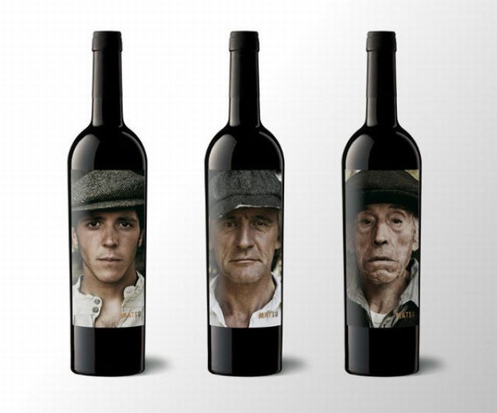Bouteille vin design 7