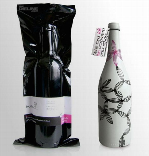 Bouteille vin design 8