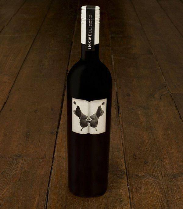 Bouteille vin design 15