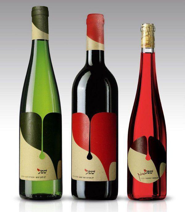 Bouteille vin design 17
