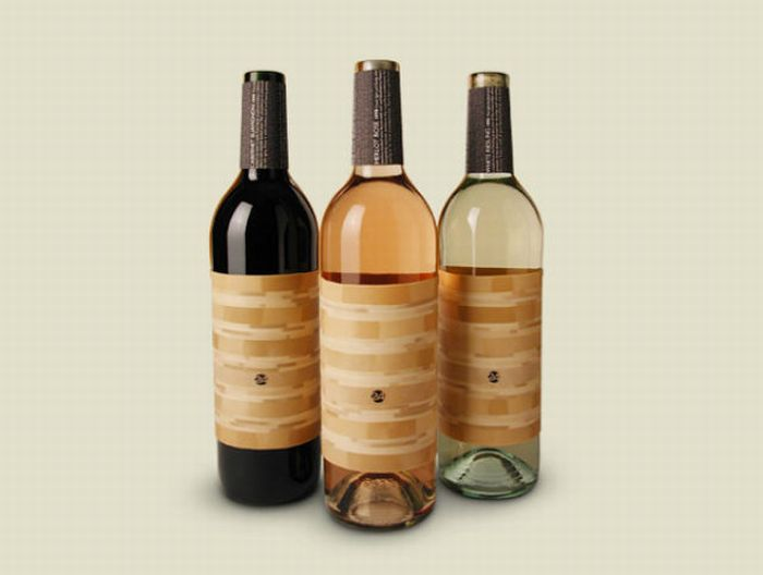 Bouteille vin design 20