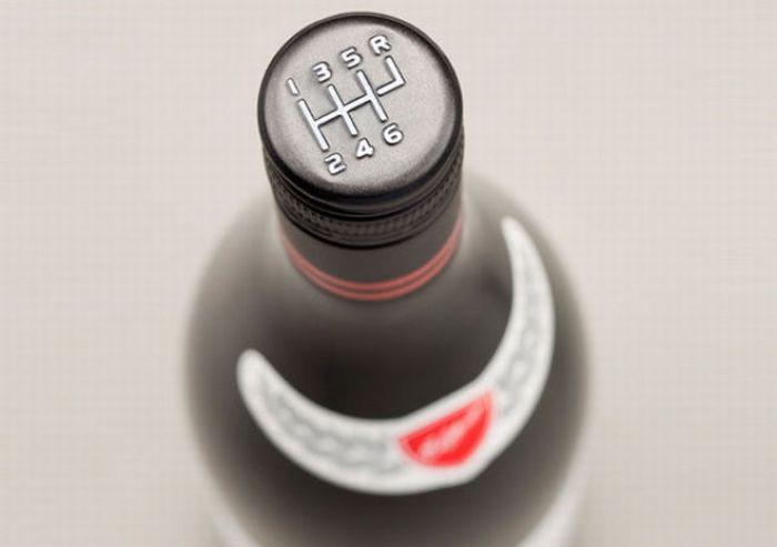 Bouteille vin design 21