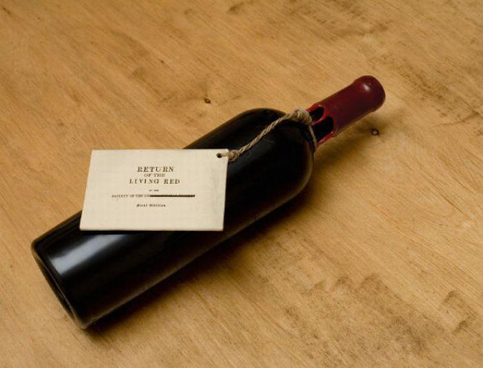 Bouteille vin design 22