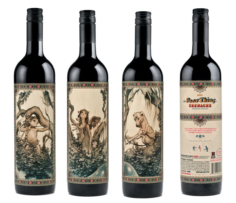 bouteilles et tiquettes de vin design. Black Bedroom Furniture Sets. Home Design Ideas