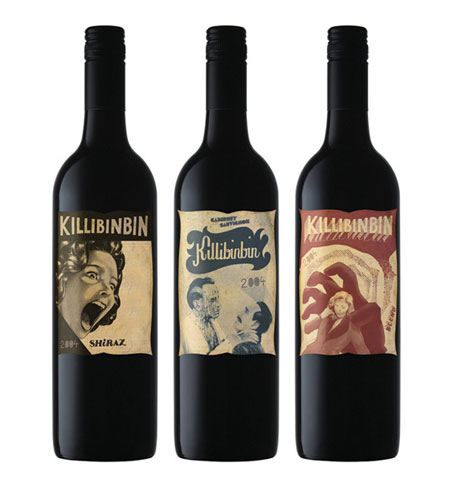 Bouteille vin design 29