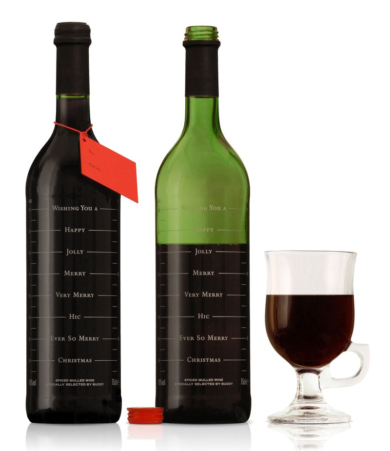 Bouteille vin design 43
