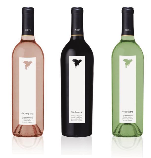 bouteilles et  u00e9tiquettes de vin design