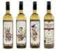 Bouteille vin design 40