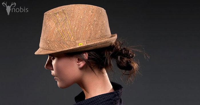 casquette liege femme