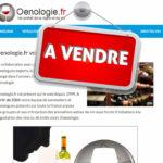 Le site Oenologie.fr est en vente